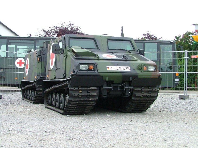 Hägglunds Bv206S ambulance NL