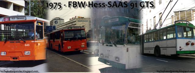 Trolebús FBW-Hess-SAAS UST de 1975