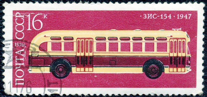 ZIS 154 CCCP postzegel