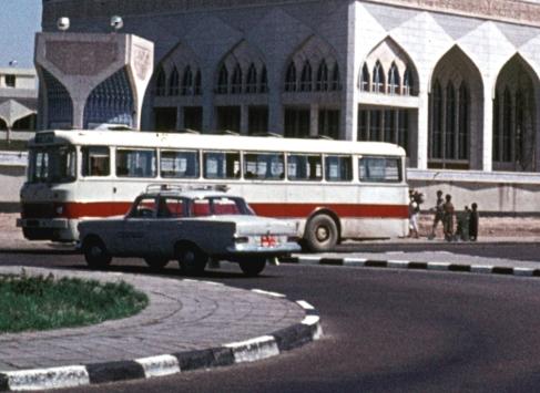 13 Ikarus_556_in_1973,_Baghdad_mosque
