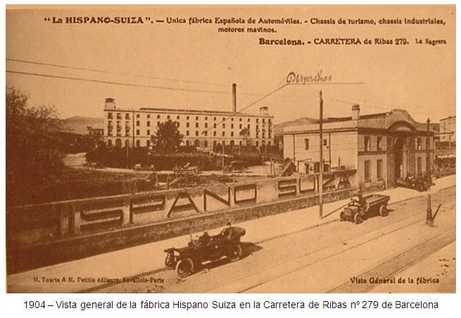 1904 HISPANO SUIZA-00 ( Vista general de la fabrica)
