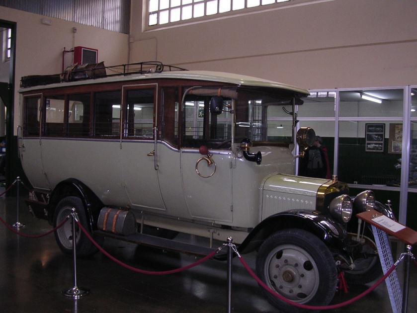 1918 Antoni Bellet Hispano Suiza 15-20