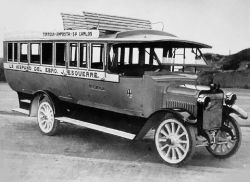 1920 HISPANO-SUIZA Bus