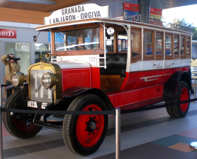 1922 Hispano Suiza 30-40. Four cylinders, 4710 cc, 43 Horsepower Madrid