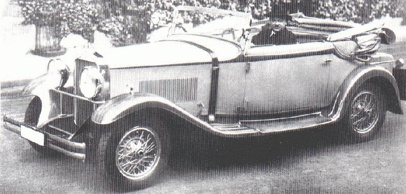 1928-32 Wanderer W11 10-50 PS