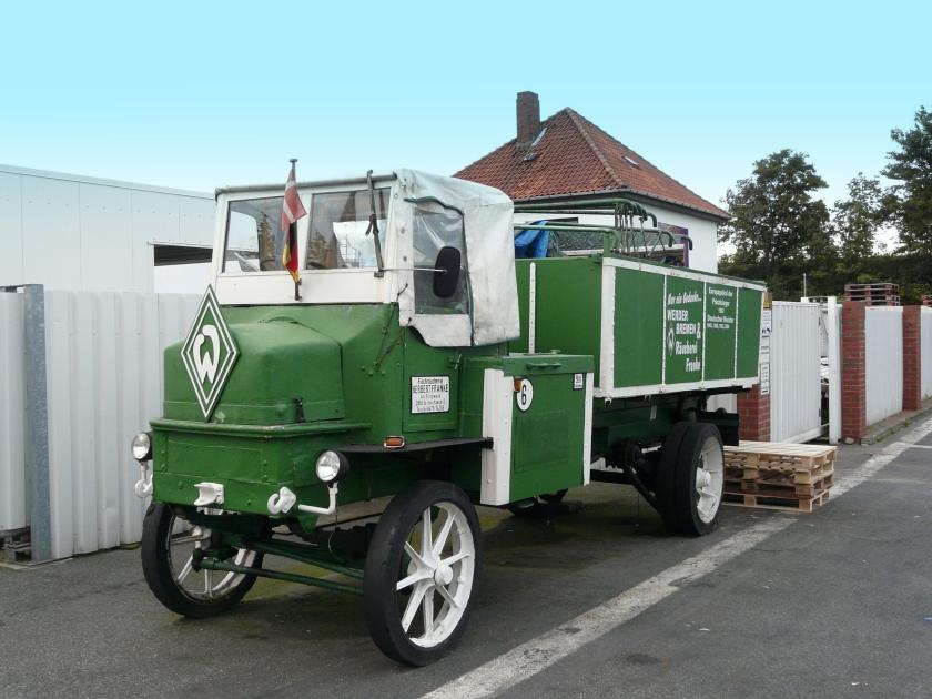 1929 Hansa Lloyd Elektro LKW 32-34