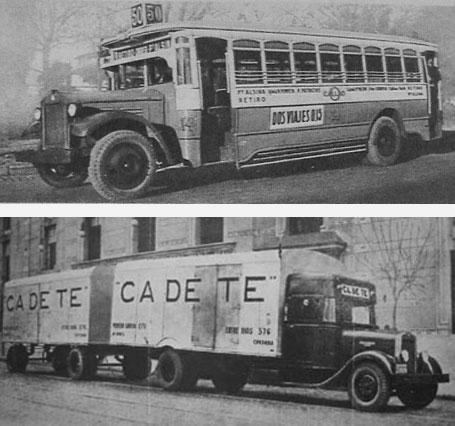 1929 Hispano Argentina Bus