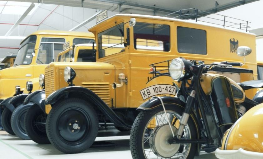 1930 Phänomen Landkraftpostwagen Typ 4 RL Phänomen-Werke Gustav Hiller AG,Zittau