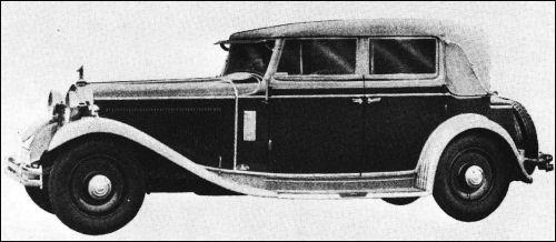 1931 Audi zwickau cabrio typ-ss 20-100ps by seegers