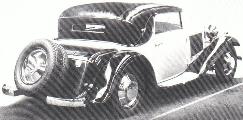 1931 Wanderer-W14, (only 1 built),