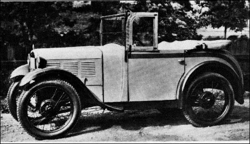 1932 BMW 3-15 PS Cabrio