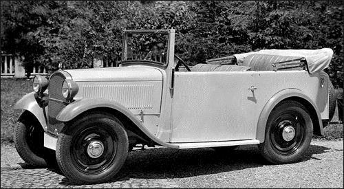 1932 BMW 3-20 PS Typ A4