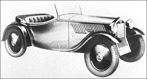 1932 Dkw fa600 roadster