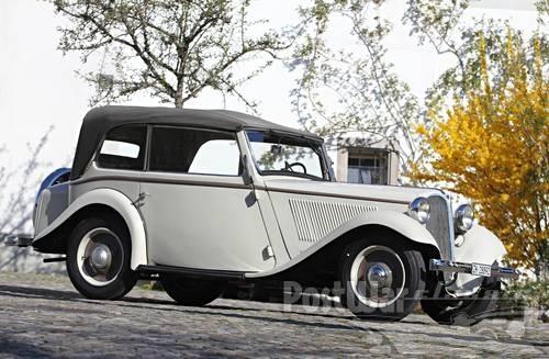 1933 BMW 303 Cabriolet  D