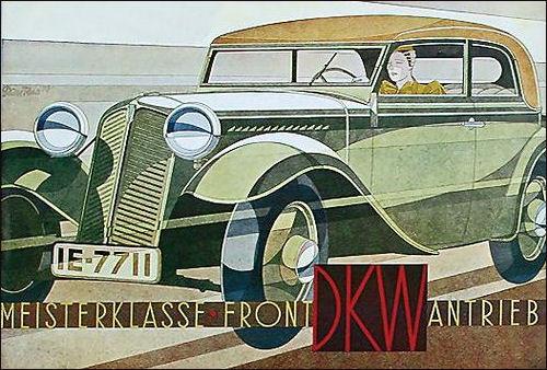 1933 Dkw meisterklasse