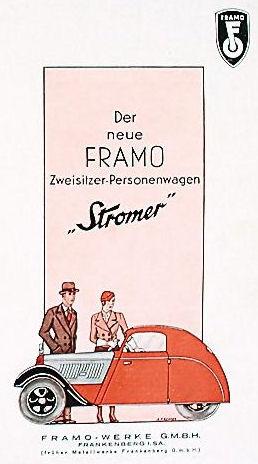 1933 Framo stromer