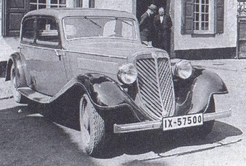 1933 Wanderer-W21