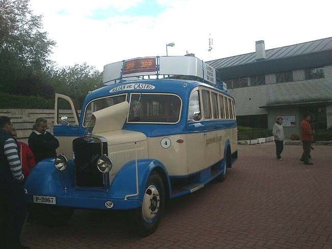 1934 Autobús Hispano Suiza