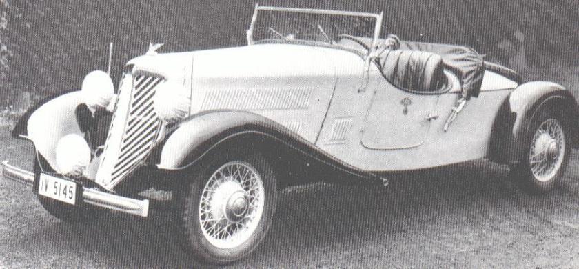 1934 Wanderer-W22