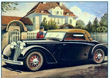 1935 Dkw F5 2 seter Luxus Cabriolet