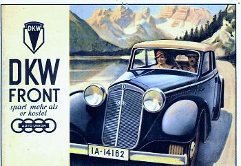 1935 Dkw F5 Meisterklasse Cabrio Coach cover