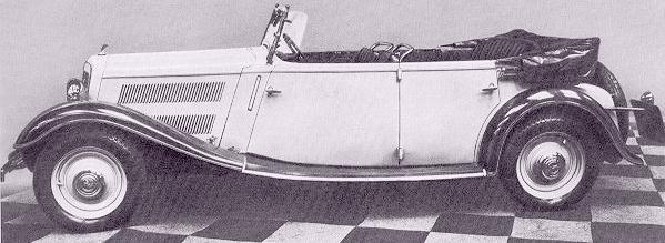 1935 Wanderer-W22 Phaeton