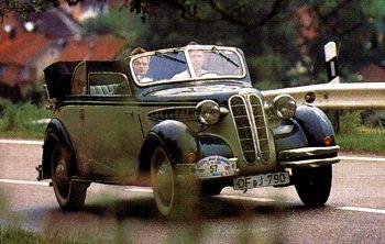 1936 BMW 326 cabrio