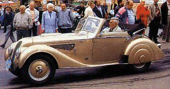 1936 BMW 328 cabriolet (Oldtimer Markt)
