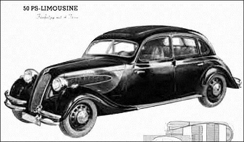 1936 BMW 329 Cabrio Wendler