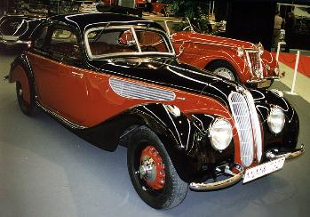 1937 BMW 327 coupe