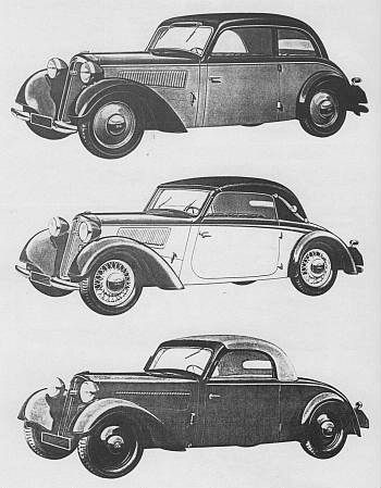 1937 Dkw f7 meister, luxus i normal