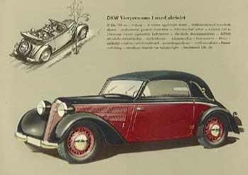 1937 dkw -luxecabrio