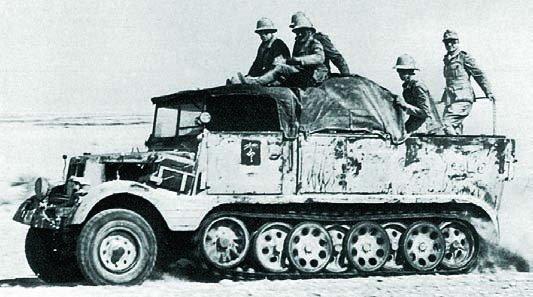 1937 Hansa-Lloyd HLkl5 (Sd.Kfz.7),