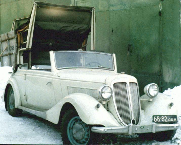1937 Wanderer-W50