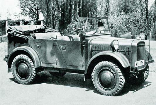 1938 BMW-325 (Kfz.3), 4x4