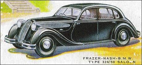 1938 BMW 326 assembled in England by Frazer-Nash