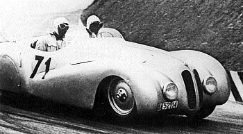 1938 BMW 328 1000 Mil