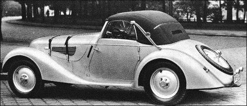 1938 BMW 328 Sport Cabriolet Weinberger