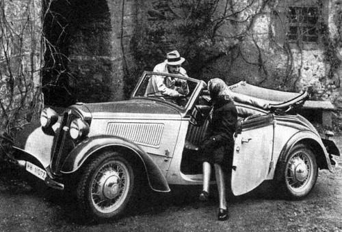 1938 Dkw f7 front luxus cabrio