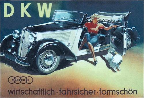 1938 Dkw f8 front luxus