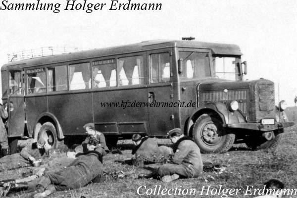 1938 Hansa Lloyd Merkur IV Omnibus