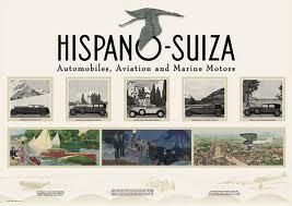 1938 Hispano Suiza poster