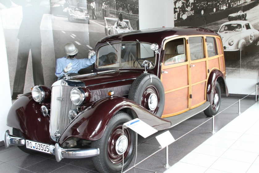 1938 Horch 830 BL Woody