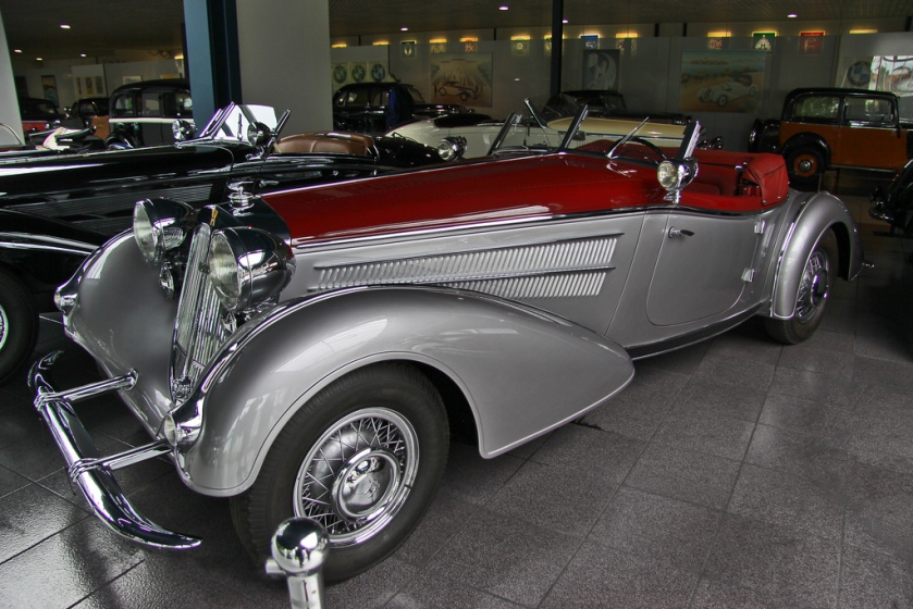 1938 Horch 855 Spezial-Roadster