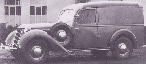 1938 Wanderer-W23 lieferwagen