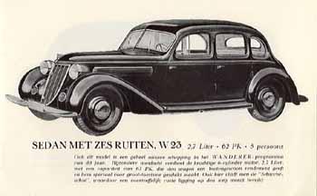 1938 Wanderer W23 Sedan