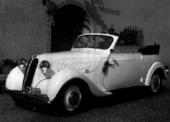 1939 BMW 321 cabrio