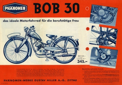 1939 BOB Moped Prospect