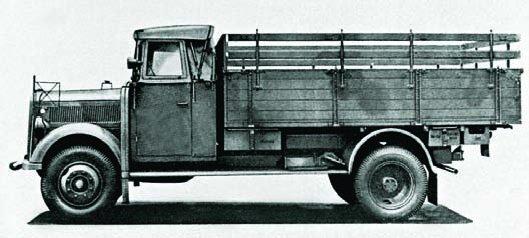 1939 Borgward В3000S