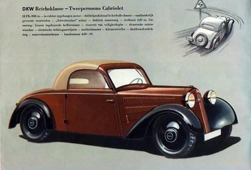 1939 Dkw f8 reichklasse cabrio
